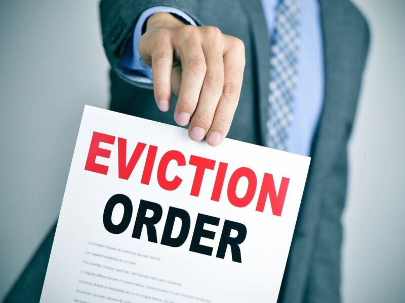 What is Required of the Landlord and Property Manager during Eviction
