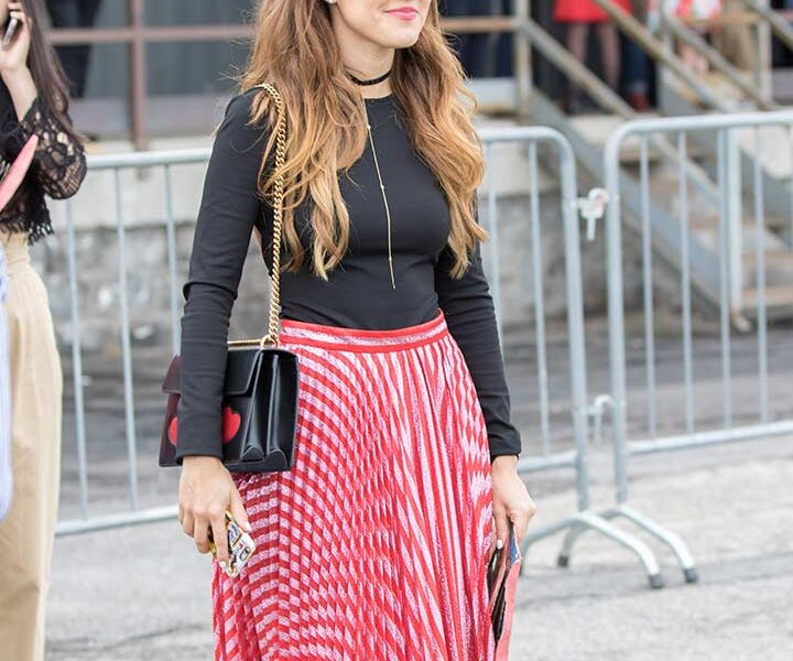 12 Best Ways to Wear a High Waisted Pleated Skirt