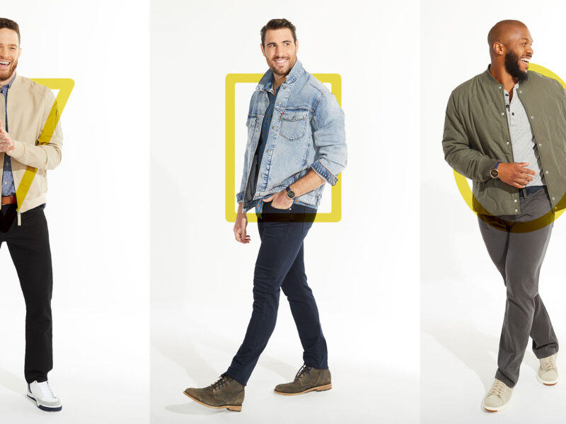 Which men's clothing to choose based on body shape?