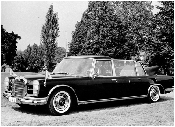 The different ceremonial cars of world leaders